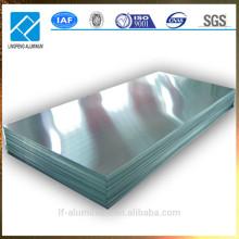 Feuilles d'aluminium minces chinoises pour décoration, planche de publicité, panneau routier, toiture, plafond, etc.