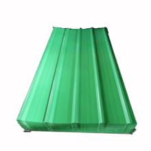 Гофрированный пластиковый лист крыши