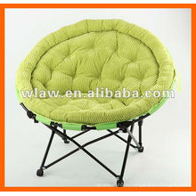 Plush large moon chair for bedroom and parlour