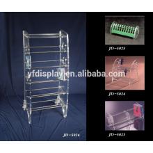 design moderne clair acrylique plateau CD présentoir