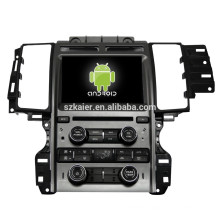 Android 4.4 Mirror-link TPMS DVR car dvd player for Ford Taurus with GPS/Bluetooth/TV/3G