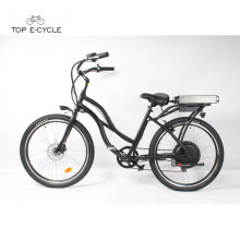 S2 green power cheap electric beach cruiser bicycle /bike in stock for sale
