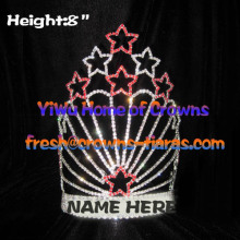 Rhinestone Star Shaped Pageant Crowns