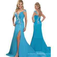 Peacock One Shoulder Pageant Dress Party Dress Evening dress with Crystal Rhinestones RO11-17