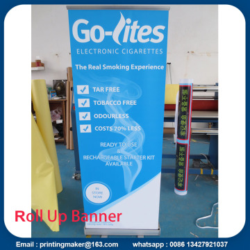 "Aluminium 24 ""x63"" Pop Up Messe-Display"