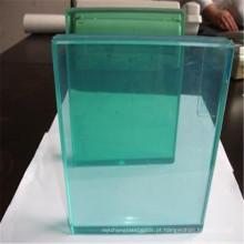 Construção clara de 12mm / vidro blindado / flutuador para a cerca de vidro