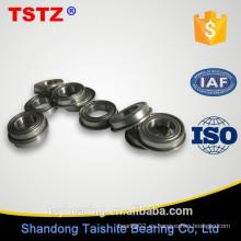 China fabricante de cojinetes de alta precisión brida rodamiento de bolas F681 FL618 / 1.5