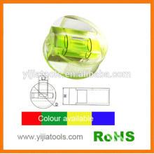 Yijiatools high quality round machined bubble level
