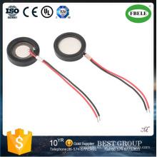 Zumbador piezoeléctrico de la venta caliente con el alambre tres para el humidificador