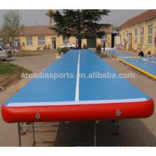 Tapis de course en caoutchouc gonflable en gros de tapis de plancher de PVC d'air