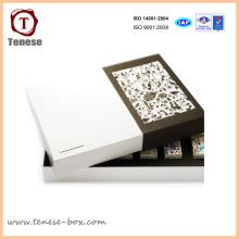 Caixas de presente de papel de papelão personalizadas de design novo
