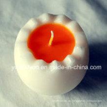 Preciosa vela de tarro perfumado de soja pura