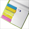 office hardcover notepad and sticky notes memo set