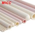 MICC pink white yellow 99% alumina ceramic beads