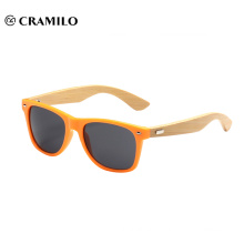 Cramilo brand bamboo sunglasses with logo15012