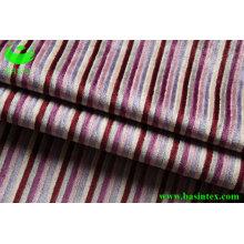 Fios tingidos Stripe tecido almofada (BS4029)