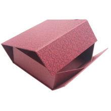 Caixa dobrável de papel para fácil remessa