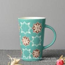 Vendas quentes Enamal Cerâmica Caneca Souvernir