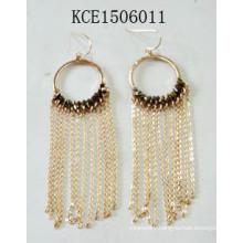 Fashion Jewelry Earrings with Metal Tassel