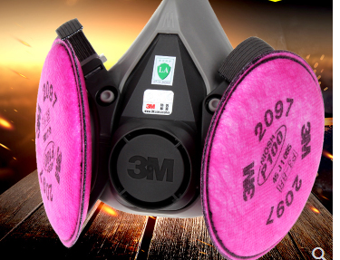 3M Respirator Chemical Gas Mask7502 6200