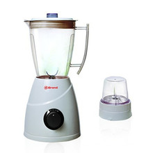 300W Powerful Motor Plastic Jar 2 Speeds Fruit Blender Mill 2 in 1 (B20)