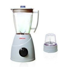 300W Potente Motor Plástico Jar 2 Velocidades Fruit Blender Mill 2 en 1 (B20)