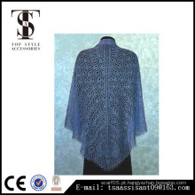 2016 Moda crochet vivendo borboleta oração xale filé chetroc moda xale borboleta impressa lenço mulheres