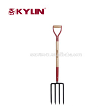 Year-End Promotion 4 Prong Garden Steel Fork With Handle