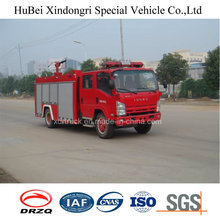 Type de réservoir d'eau 5ton Isuzu Fire Engine Truck Euro 4