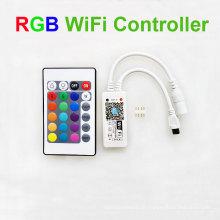 Venda Por Atacado mini controlador de tira wi-fi rgbw led para luzes de tira conduzidas