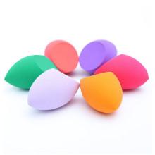 Éponge de maquillage de forme de coupe d'olive formes de larme beauté, applicateurs pour fondations, crèmes, etc.