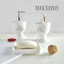 Accessoires de bain en porcelaine de qualité supérieure (WBC0560B)