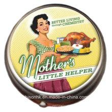 Pouco ajudante da mãe caixa do comprimido