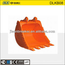 pc130 excavator bucket, quick attach bucket, bucket thumb