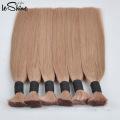 Virgin/Natural Indian Remy Human Hair Bulk Raw Unprocessed Braiding Hair