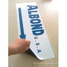 Film de protection pour panneau composite en aluminium