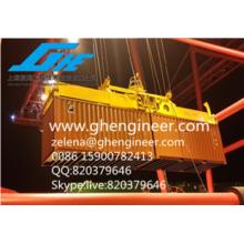 Epandeur à récipient télescopique hydraulique électrique à 40 pieds / 2x20ft