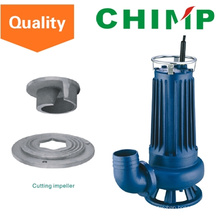 Wq (D) 1.1kw Schneiden Impeller Abwasser Elektro Tauchwasserpumpe (WQD15-9-1.1QG)