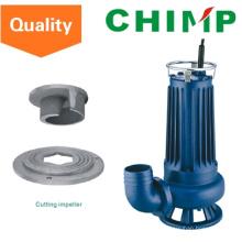 Pompe à eau submersible électrique d'eaux d'égout de Wq (D) 1.1kw de coupe (WQD15-9-1.1QG)