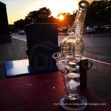 De alta calidad 9 mm de espesor de tubo de fumar de vidrio