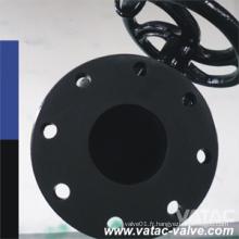Acier de fonte PTFE / PFA / FEP rayé droit bien que la valve de diaphragme