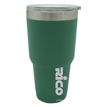 Travel Stainless Steel Vacuum Auto Mug 30oz Green as Professional as Yeti