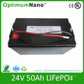 Rechargeable Battery 24V 50ah LiFePO4 Battery