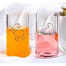 Wholesale Polar Bears Clear Cartoon Cup