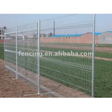 clôture galvanisée provisoire de treillis métallique