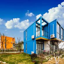 maison de conteneur préfabriquée de villa d'habitation modulaire