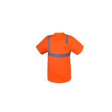 Industry Red Safety Workwear with Reflective Tape
