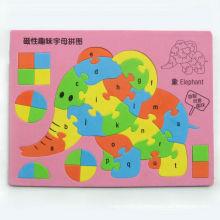 Manteaux de puzzle animal magnétique eva foam