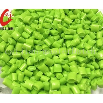 PET Green Color Masterbatch Granulat