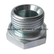 Articulación de rosca externa de acero al carbono, accesorios